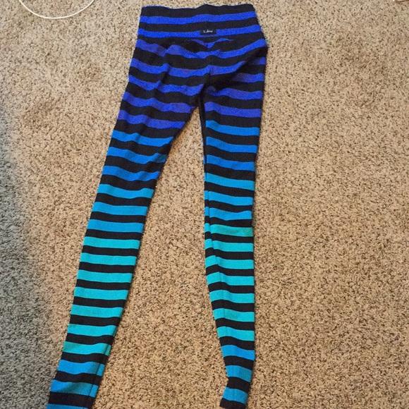 a9570ba139c8b K-DEER Pants   Kdeer Striped Leggings Medium   Poshmark